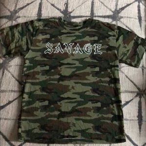 Other - Girls camouflage t-shirt